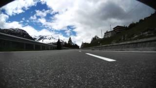 preview picture of video 'Bormio to Livigno over Foscagano Pass in an Audi TT RS Plus'