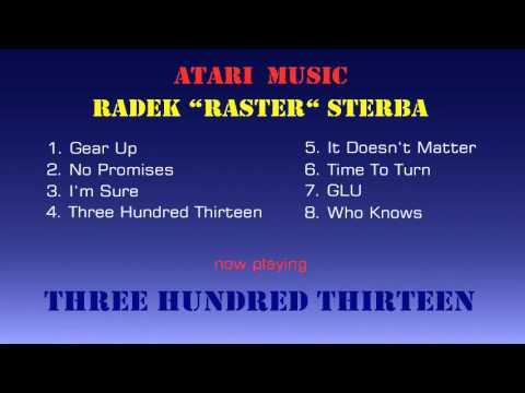 ATARI 8-bit - STEREO music from RASTER