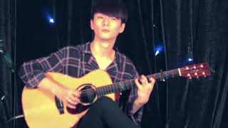 Gambar cover (Payung Teduh) Akad - Sungha Jung (live)