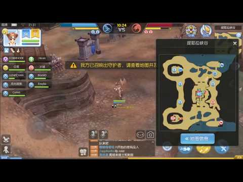 PVP GAMEPLAY test Ragnarok mobile by Tencent - игровое видео