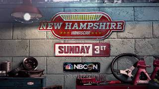 Wicked Fast NASCAR Racing From New Hampshire - Sunday at 3 p.m. ET on NBCSN
