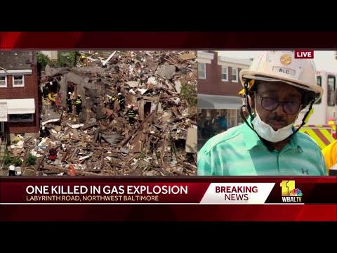 BALTIMORE EXPLOSION: Noon update from officials on Baltimore explosion