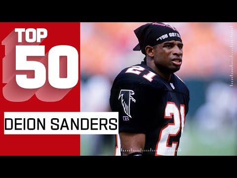 Deion Sanders Top 50 Most Game Breaking Plays!