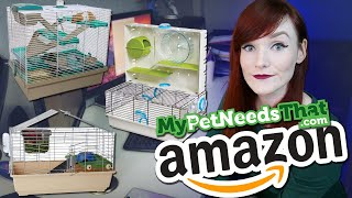 Reacting To Amazons 2020 Best Hamster Cages | Munchies Place