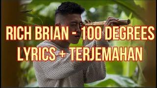 Rich Brian   100 Degrees (Lyrics   Terjemahan Bahasa Indonesia)