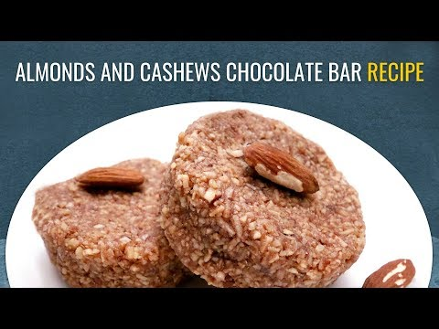 Protein Rich Almond and Cashew Bars