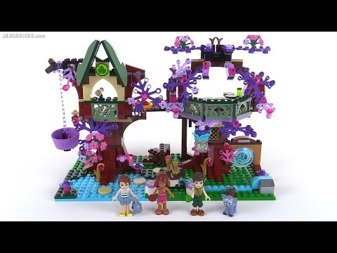 , title : 'LEGO Elves: The Elves' Treetop Hideaway review! set 41075'