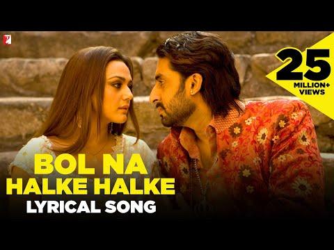 Lyrical: Bol Na Halke Halke Song with Lyrics | Jhoom Barabar Jhoom | Gulzar | Shankar-Ehsaan-Loy