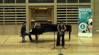 ANASTASIIA KUKUNINA plays Prelude, Cadence et Finale by Alfred Desenclos