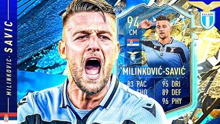 FIFA 18 GOD TIER?! TEAM OF THE SEASON 21 MILINKOVIC-SAVIC REVIEW!! FIFA 20 Ultimate Team