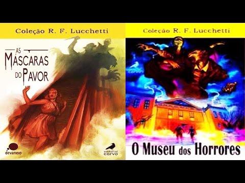 [COMBO-RESENHA] Mascaras do Pavor & Museu dos Horrores - R F Lucchetti   Mês do Halloween #22-ANO 4