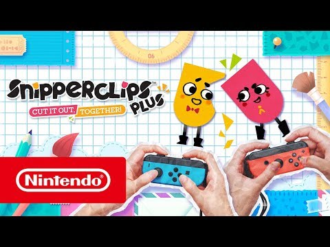 Snipperclips Plus: Cut it out, together! – Reams of new content! (Nintendo Switch) thumbnail