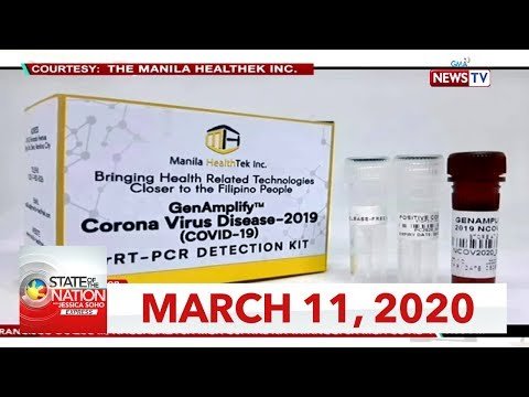 [GMA]  State of the Nation with Jessica Soho Express: March 11, 2020