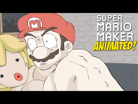 WHAT REALLY HAPPENED!! [SUPER MARIO MAKER] [ANIMATED]