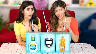 We Tried the DEATH STRAW Challenge /w @AzzyLand