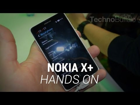 Nokia X+ Hands-On