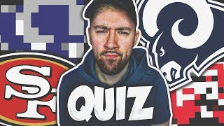 PIXELATED NFL LOGO QUIZ! (CAN YOU GET 100%?)