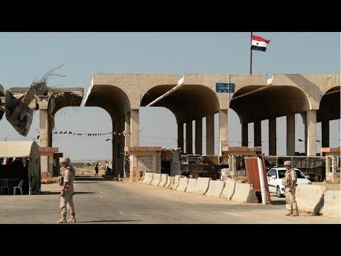 Jordan and Syria reopen main border crossing