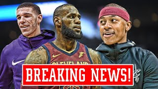 THE CAVALIERS GAVE UP! ISAIAH THOMAS WANTS TO START OVER LONZO BALL! | NBA News