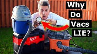 Which Vacuum Has Best Suction? Shop Vac, Ridgid, Dyson, Milwaukee
