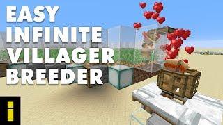 Easy Infinite Villager Breeder For Minecraft 1.14.4 (Tutorial)