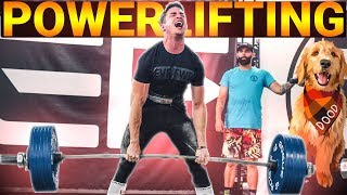 MY FIRST POWERLIFTING COMPETITION! - Deadlifts for Dood