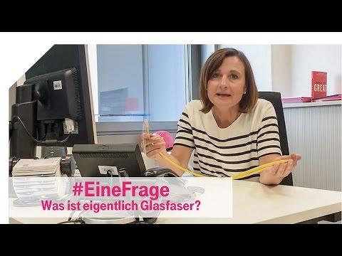 Telekom Netzblog: Glasfaser - Was genau ist das eigentlich? #EineFrage