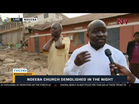 ON THE GROUND: Residents furious over church demolition