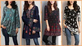 Women Long Sl Cotton Linen Fabric Casual Blo Shirts Tunic Top Collection 2019