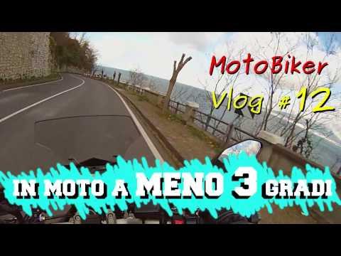 Inverno in moto a meno 3 gradi MotoBiker Vlog 12