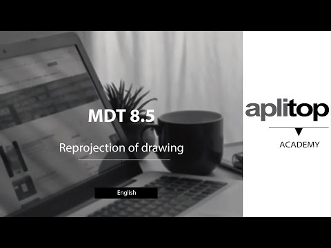 MDT8 Reprojection of drawing