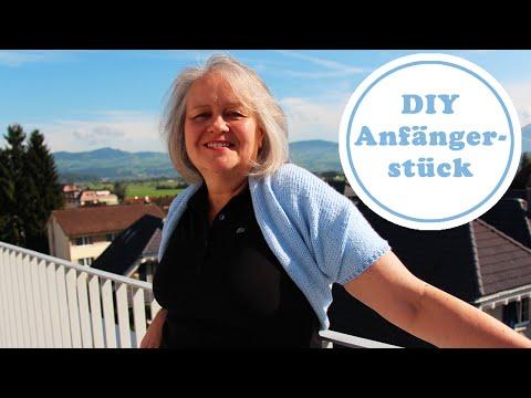 Einfachster Bolero EVER - Bolero stricken für Anfänger - DIY und super einfach