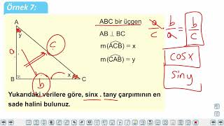 Eğitim Vadisi 9.Sınıf Matematik 30.Föy Dik Üçgen ve Trigonometri Konu Anlatım Videoları