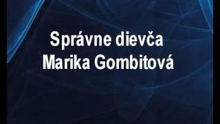 Marika Gombitová - Správne dievča (karaoke z www.karaoke-zabava.cz)
