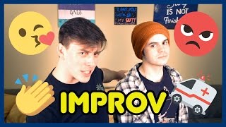 NEW YOUTUBE VIDEO IMPROable But Not Impossible In regards to acting or
