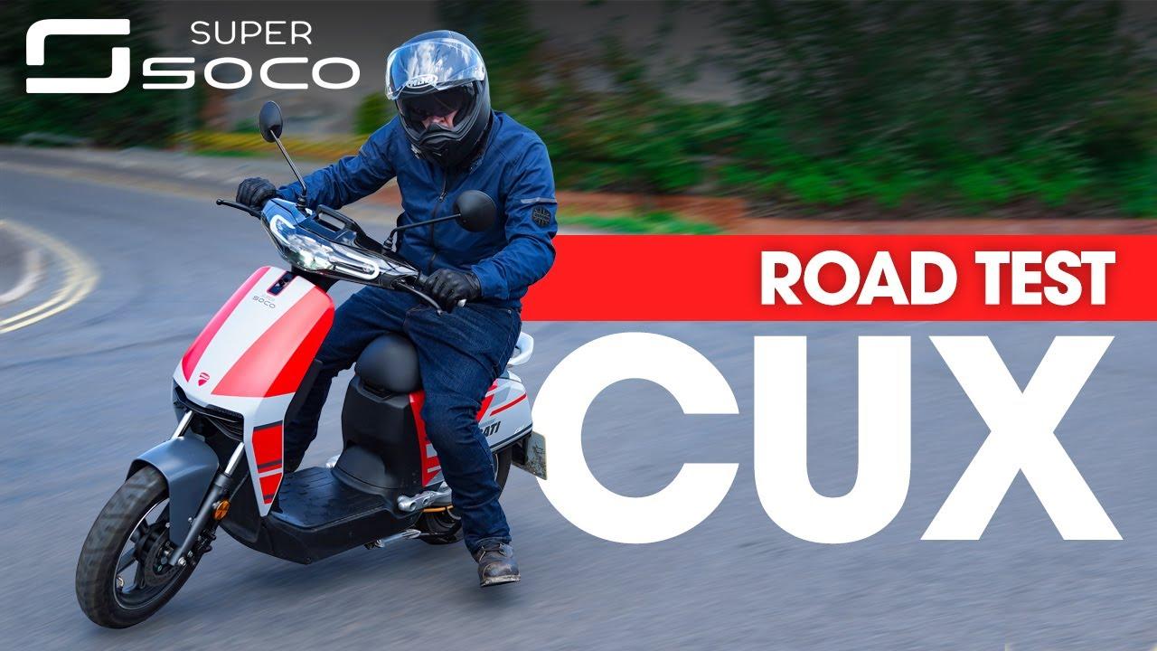 Super Soco CUx DUCATI Review! Learner Legal Super Scooter!?