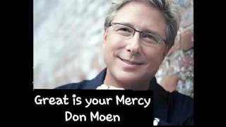 Great is your mercy
