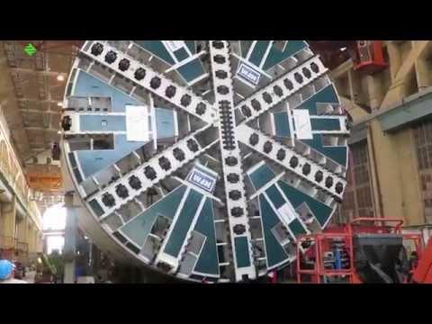 قطار الرياض | آلة حفر الأنفاق العميقة
