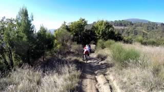preview picture of video 'MTB monte subasio 02-11-14 Spello guerru Hero'
