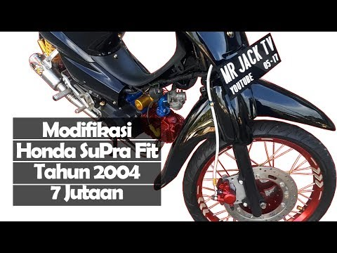 Video MODIFIKASI HONDA SUPRA FIT TAHUN 2004