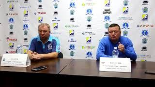 Пресс-конференция «Алтай Торпедо» – «Горняк»