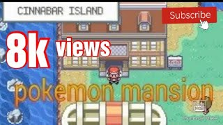 Pokemon fire red:how to unlock 7th gym(pokemon mansion mystery)
