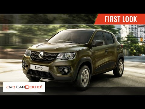 First and Exclusive Look | Renault Kwid | CarDekho.com