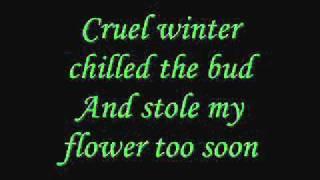 Annie Lennox- Love Song for a Vampire [lyrics]