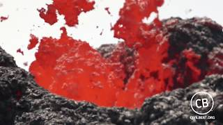 Kilauea Lava Flow Fissure 16 Saturday May 14, 2018
