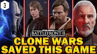 CLONE WARS SAVED THIS GAME! Star Wars Battlefront 2 Clone Wars Opinions