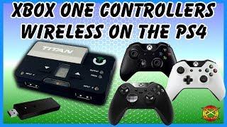 cronusmax plus xbox one elite controller on ps4 - TH-Clip