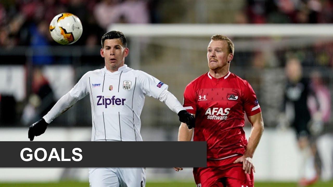 UEFA Europa League: AZ Alkmaar vs LASK [Thu, Feb 20, 2020]
