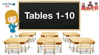 Tables 1 to 10    Learn Multiplication    Preschool Maths    Learn Tables for kids   Learn Maths