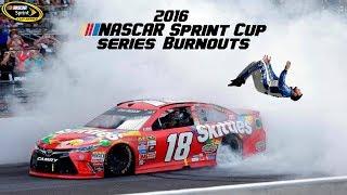2016 NASCAR Sprint Cup Burnouts & Backflips